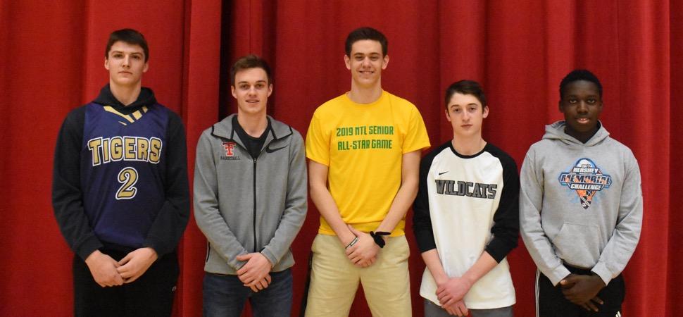 2018-19 NTL Large School Boys Basketball All-Stars announced.