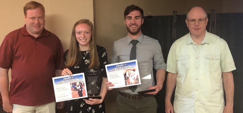 Harvey, Smith named NTL Athletes of the Year