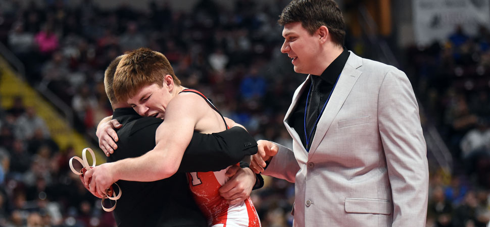 Troy's Seymour wins back-to-back PIAA Wrestling Championships.
