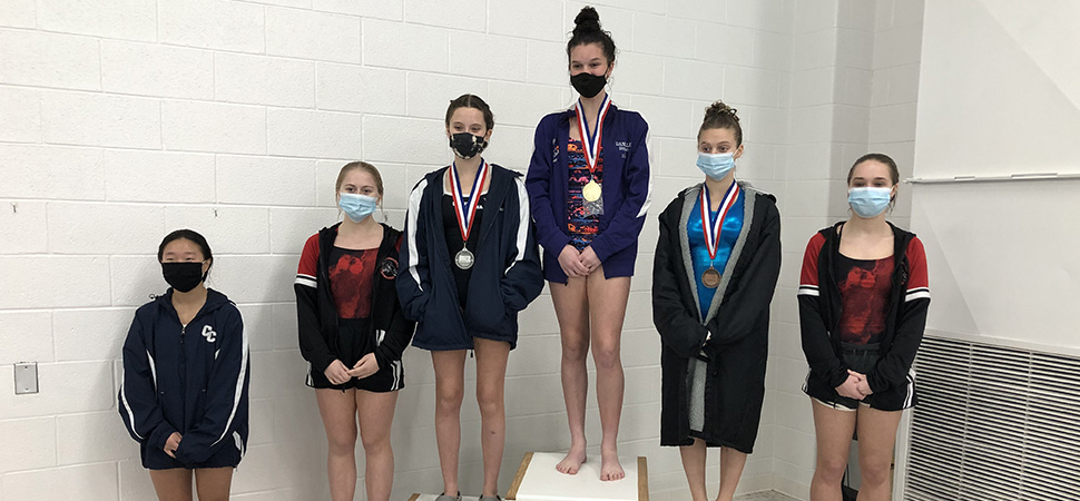 District IV Girls Diving Championship Results.