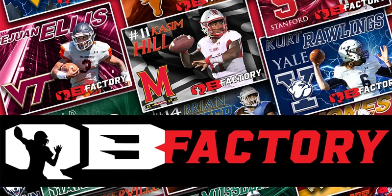 QB Factory holding QB/WR July Spotlight